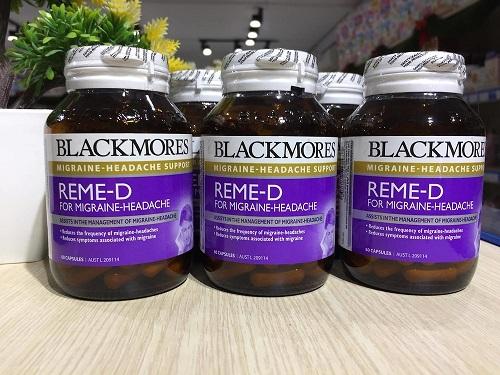 Những thắc mắc của khách hàng về viên uống  blackmores reme-d 60 viên.