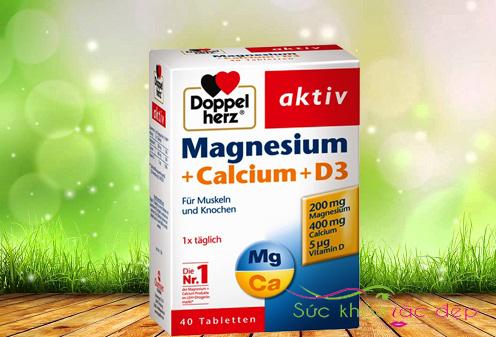 Tại sao viên uống magnesium + calcium + d3 có công dụng tốt.
