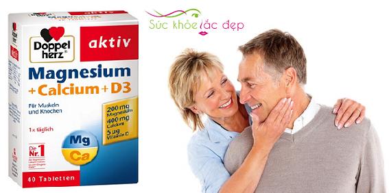Chú ý khi sử dụng Magnesium + Calcium + D3