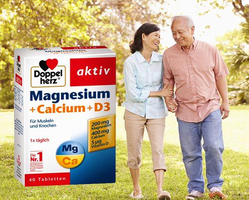 Công dụng của Magnesium + Calcium + D3 là gì?