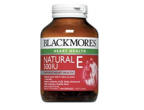 Blackmores Natural Vitamin E 500IU của Úc 150 viên