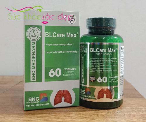 viên uống bổ phổi blcare max của mỹ