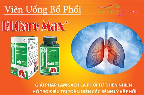 blcare max của mỹ - giải pháp cho lá phổi khỏe mạnh toàn diện