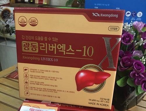 viên bổ gan kwangdong liverx- 10 hàn quốc