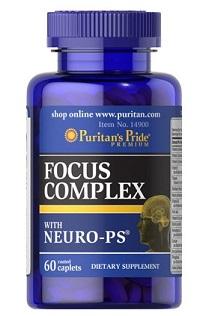 Thực phẩm chức năng bổ não Focus Complex - Puritan's Pride