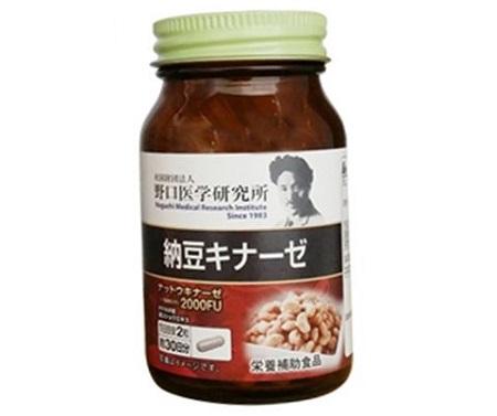 viên uống Nattokinase 2000FU Noguchi Nhật Bản