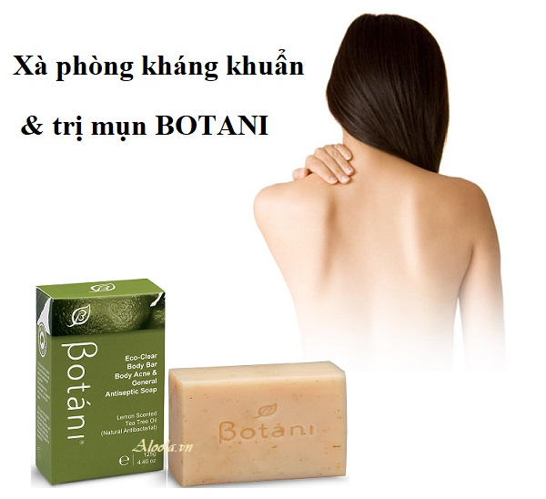 Soap Kháng Khuẩn & Trị Mụn Body Botani Eco-Clear Body Bar Body Acne & General Antiseptic Soap