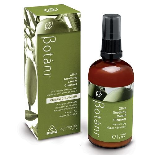 Sữa rửa mặt tẩy trang Botáni Olive Soothing Cleanser 100ml