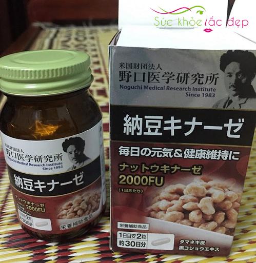Viên Uống Nattokinase