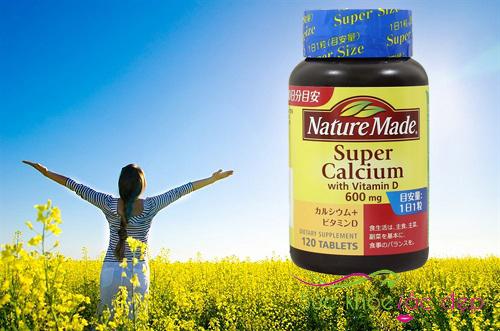Sử dụng của Viên canxi nature made super calcium 600mg có hiệu quả là gì?
