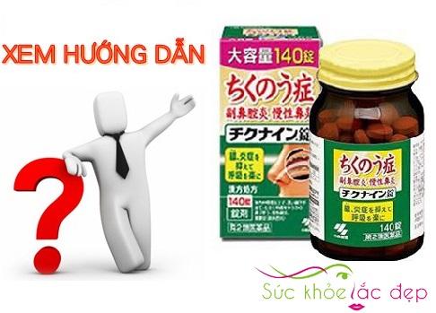 Giá viên uống trị viêm xoang chikunain Nhật bản có đắt không ?