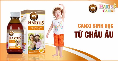Những lưu ý khi sử dụng canxi hartus 150ml là gì?