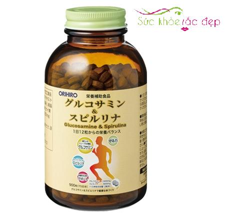Tảo Glucosamine Spirulina Orihiro 900 Viên của Nhật Bản là gì?