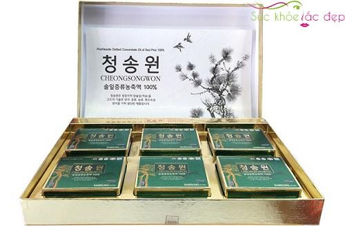 Đối tượng sử dụng tinh dầu thông đỏ cheongsongwon Hàn Quốc là ai?