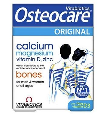 Canxi dạng viên Osteocare original hộp 90 viên của  Anh