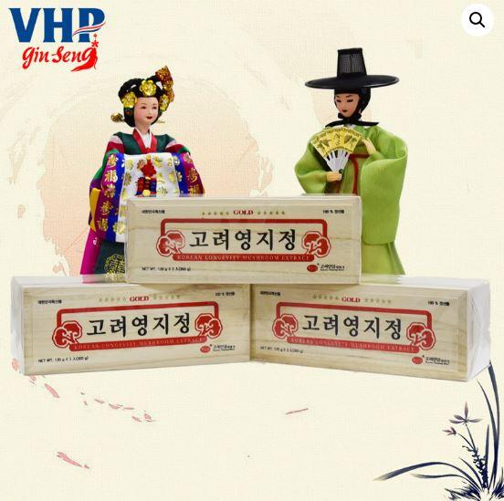 Cao Linh Chi Cao Cấp KGS Hộp Gỗ 360gr Hàn Quốc