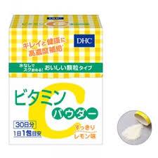 Bột vitamin C DHC của Nhật dưỡng da đẹp, trẻ lâu