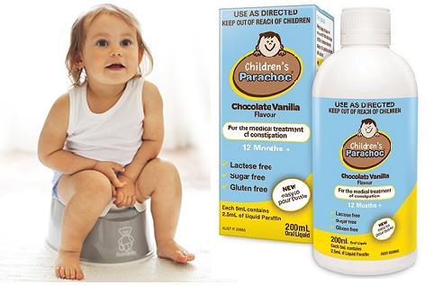 Children's parachoc chocolate vanilla flavour là gì ?
