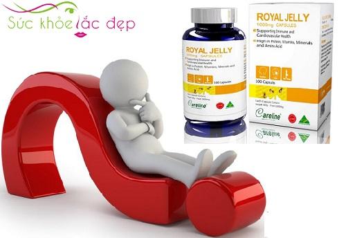 Công dụng Sữa Ong chúa royal jelly 1000mg Của Mỹ đối với sức khỏe
