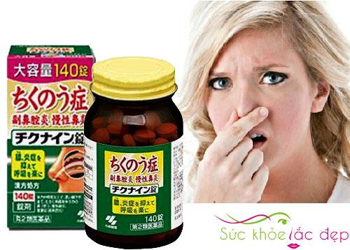 Viên uống trị Viêm Xoang chikunain Nhật Bản trong việc chữa trị điếc mũi