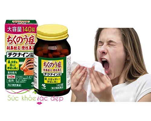 Viên uống trị Viêm Xoang chikunain Nhật Bản là gì?