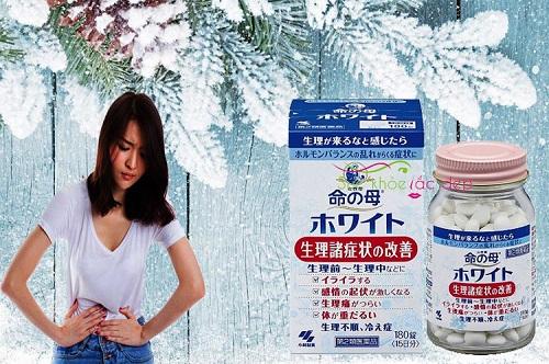 Công dụng của viên uống điều hòa kinh nguyệt kobayashi 180 viên