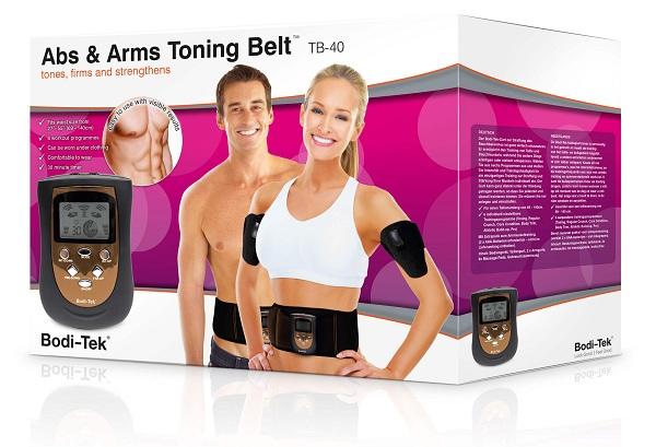 Đai massage giảm béo cho vùng bụng và cánh tay BODI-TEK AATB Anh Quốc