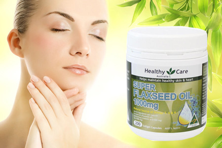 Viên uống dầu hạt lanh Healthy Care Super Flaxseed Oil 1000mg 200 viên