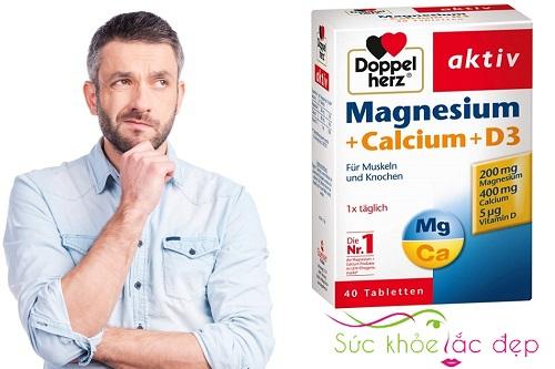 Viên uống Magnesium + Calcium + D3 là gì?