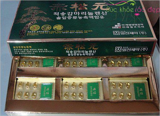 Giá tinh dầu thông đỏ cheongsongwon có giá bao nhiêu là hợp lý