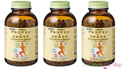 Giá Tảo Glucosamine & Spirulina orihiro 900 Viên Nhật Bản Bao Nhiêu?