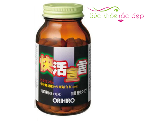 Tinh chất hàu tươi tỏi nghệ orihiro 180 viên Nhật Bản là gì?