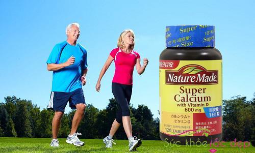 Liều lượng sử dụng nature made super calcium with vitamin D