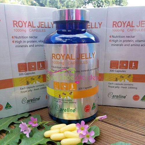 Giá Viên Sữa Ong Chúa Royal Jelly 1000mg Của Mỹ ở đâu tốt nhất