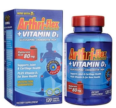 Viên uống xương khớp Arthri Flex Advance Vitamin D3 của Mỹ