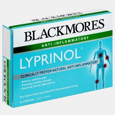 Viên uống giảm đau xương khớp Blackmores Lyprinol 50 viên