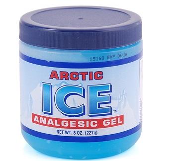 Dầu lạnh xoa bóp arctic ice analgesic gel 227gr của USA