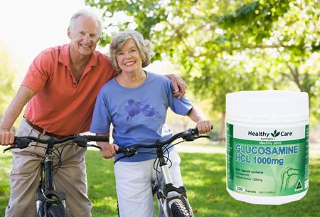 Viên uống bổ khớp Glucosamine HCL 1000mg Healthy Care