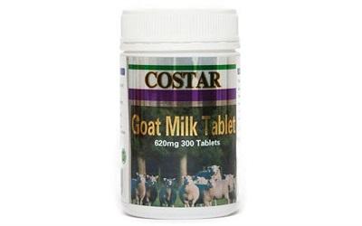 Sữa dê cô đặc dạng viên Goat Milk Tablet 620mg của Úc