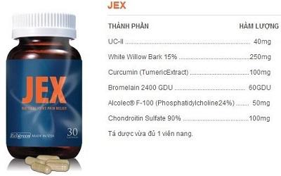 Viên uống bổ khớp Jex Max của Mỹ có tốt không