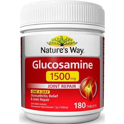 Thực phẩm chức năng Nature's Way Glucosamine 1500mg của Úc