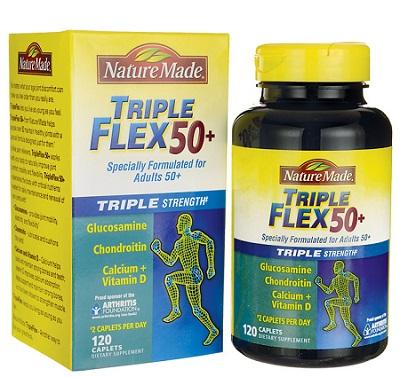 Viên hỗ trợ điều trị xương khớp Nature Made Triple Flex 50+