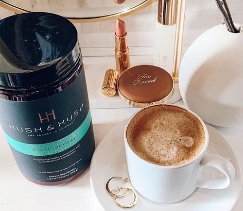 image hush & hush plant your day dạng bột dễ dàng hòa tan trong nước