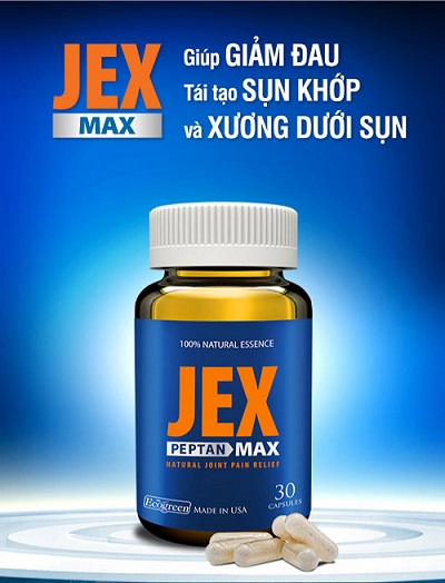 Viên Uống Bổ Xương Khớp Jex Max USA Chính Hãng Của Mỹj