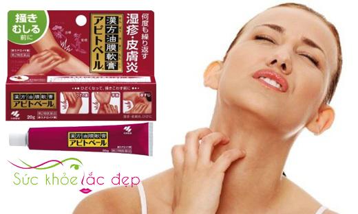Kem kobayashi 20g có tác dụng hỗ trợ điều trị ngứa da.