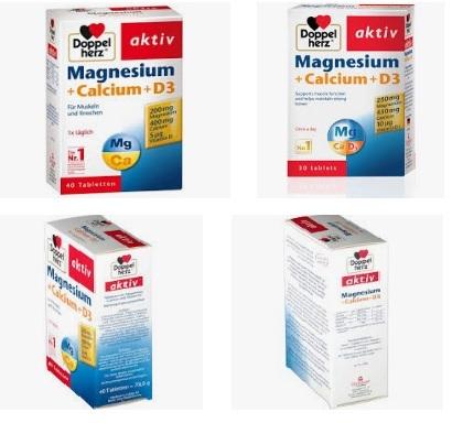 magnesium calcium d3 của đức