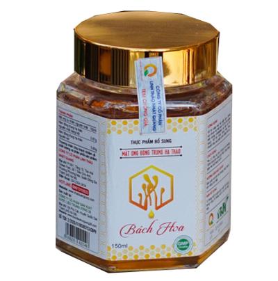 Mật ong đông trùng hạ thảo Bách Hoa 150ml giá tốt