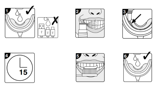 Máy làm trắng răng mini RIO DCWU Anh Quốc