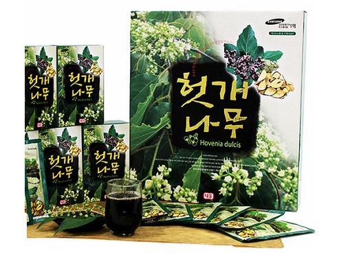 Nước uống bổ gan giải độc Hovenia Dulcis Hàn Quốc