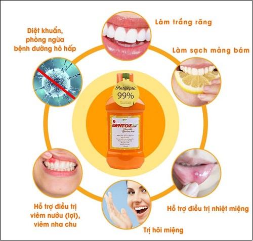 nước súc miệng dentozclear - bí quyêt cho hơi thở thơm mát răng miệng khỏe mạnh